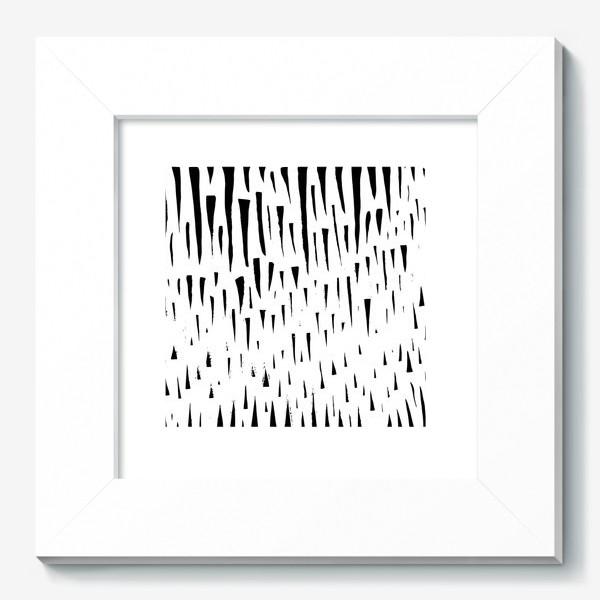 Картина «Абстрасктный фон острые треугольники »