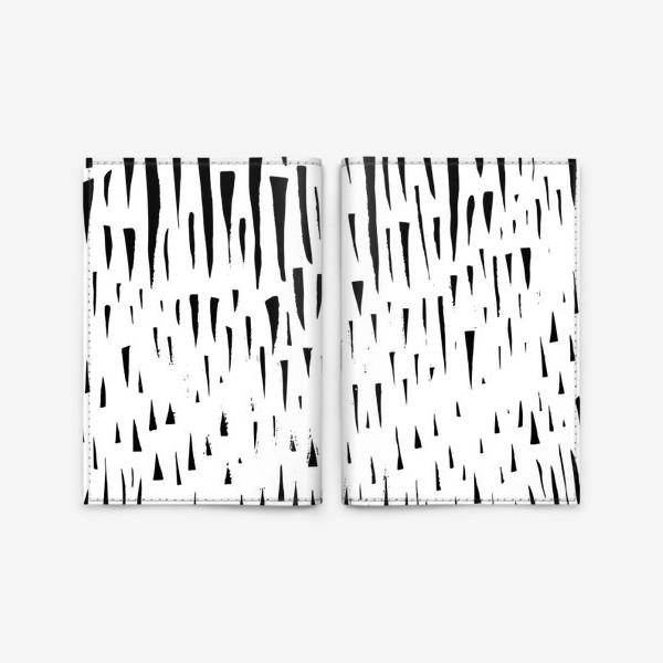 Обложка для паспорта «Абстрасктный фон острые треугольники »
