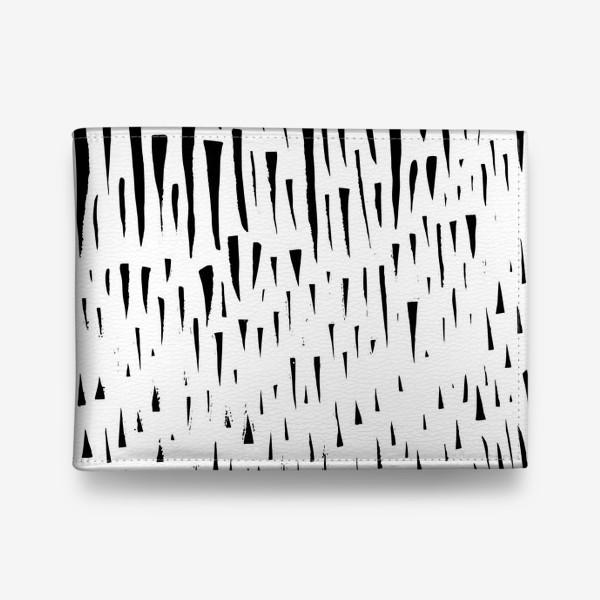 Кошелек «Абстрасктный фон острые треугольники »