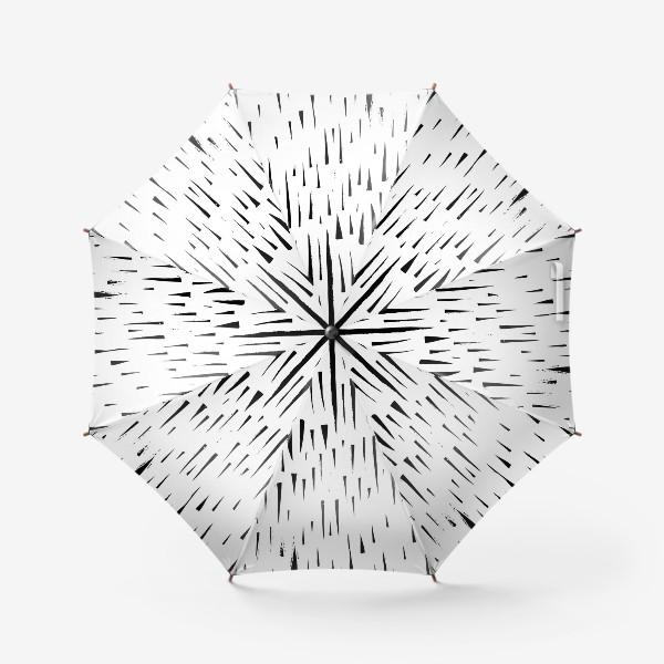 Зонт «Абстрасктный фон острые треугольники »