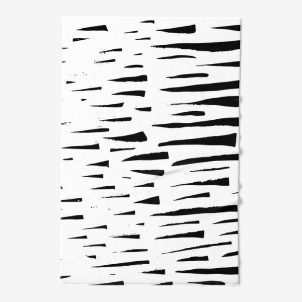 Полотенце «Абстрасктный фон острые треугольники »