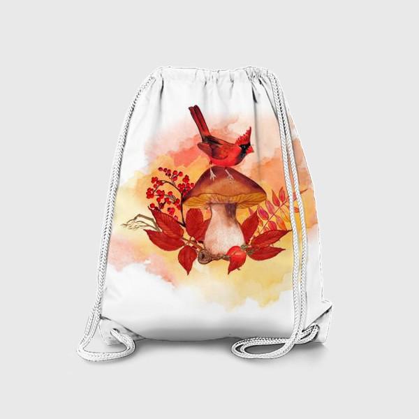 Рюкзак «кардинал птица»