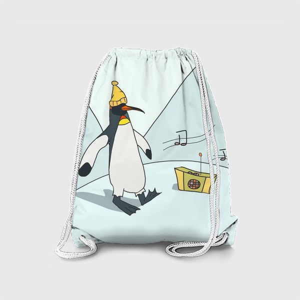 Рюкзак «Танцующий пингвин»
