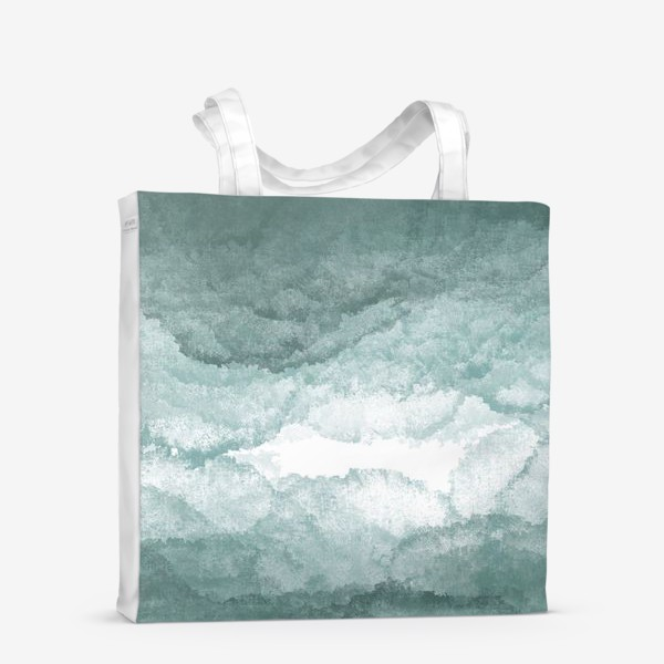 Сумка-шоппер «Сизый туман »