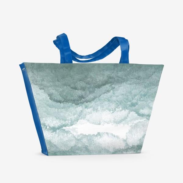 Пляжная сумка «Сизый туман »
