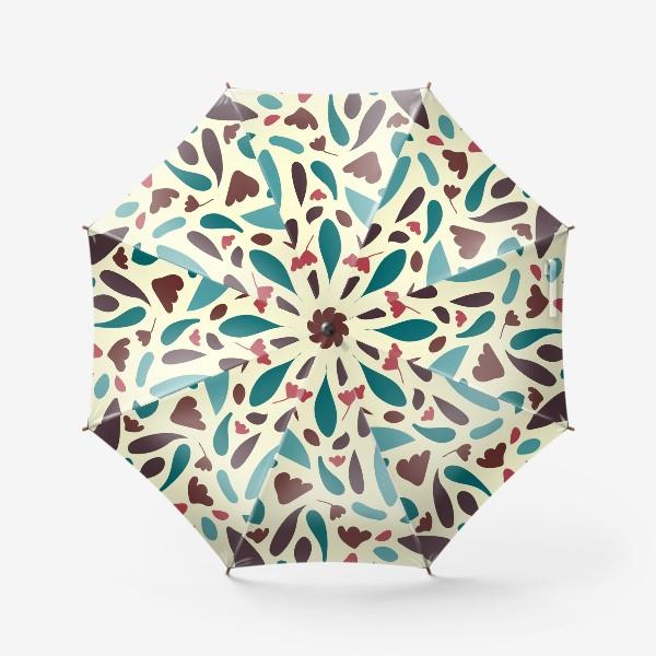 Зонт «Floral узор с тюльпанами»