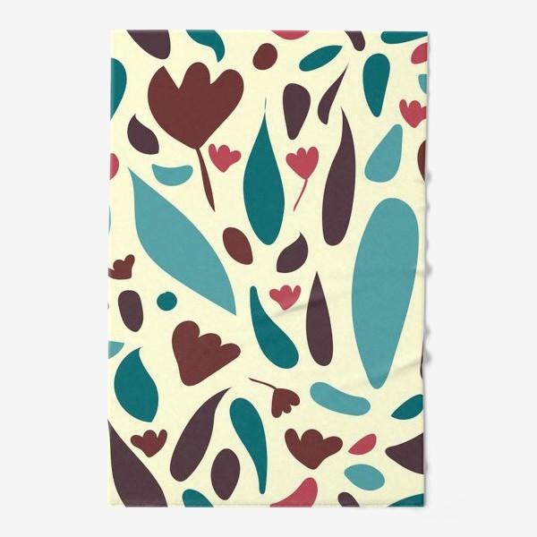 Полотенце «Floral узор с тюльпанами»