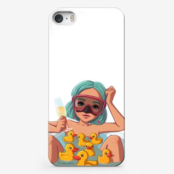 Чехол iPhone «Элис Водолей»