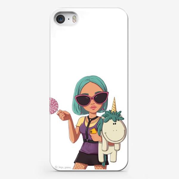 Чехол iPhone «Элис Козерог»