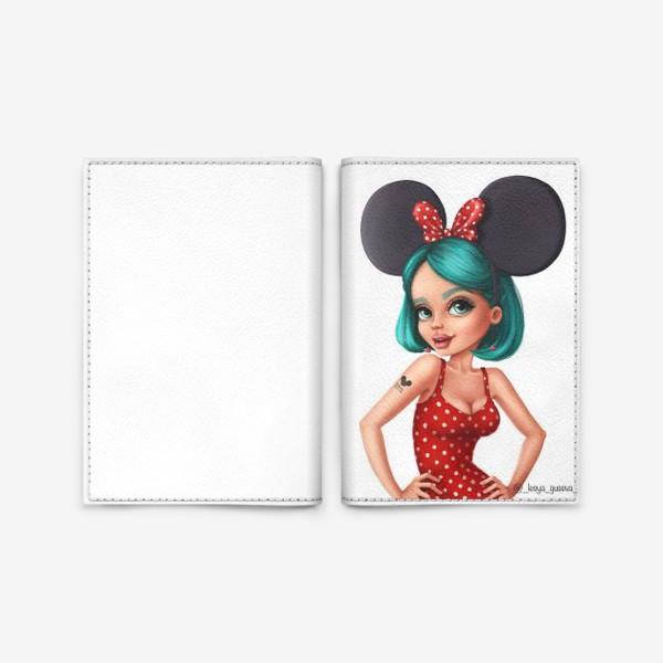 Обложка для паспорта «Alice»