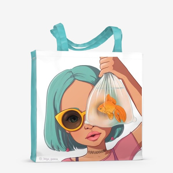 Сумка-шоппер «Элис Рыбы»
