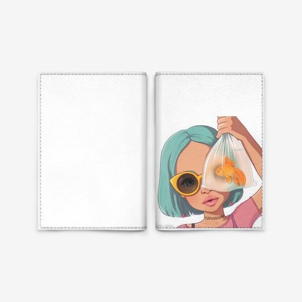 Обложка для паспорта «Элис Рыбы»