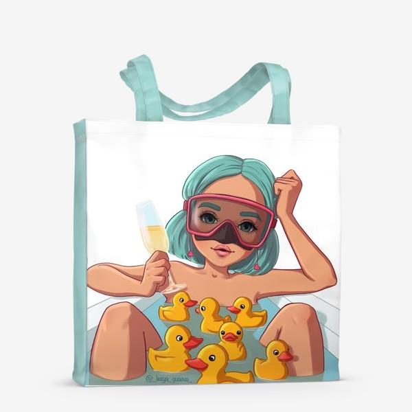 Сумка-шоппер «Элис Водолей»