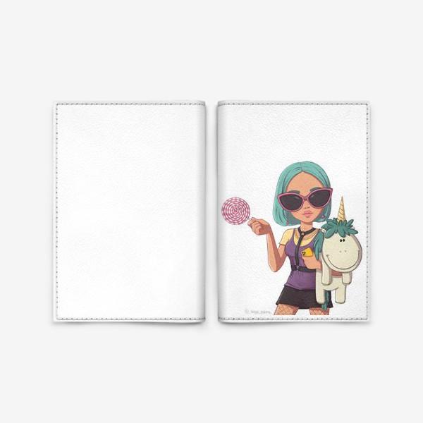 Обложка для паспорта «Элис Козерог»
