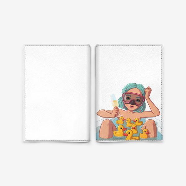 Обложка для паспорта «Элис Водолей»