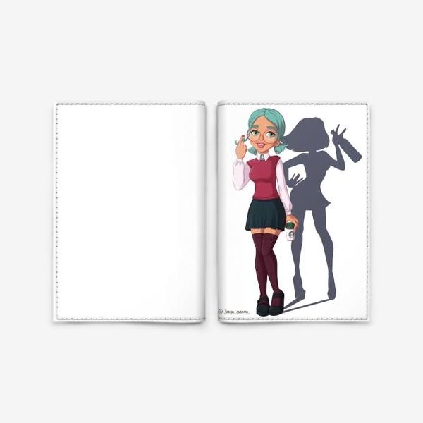 Обложка для паспорта «Элис Близнецы»