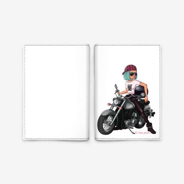 Обложка для паспорта «Элис Скорпион»