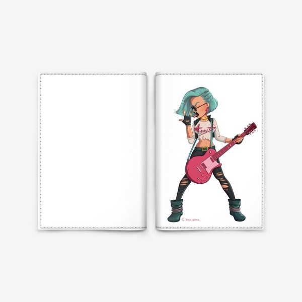Обложка для паспорта «Элис Телец»