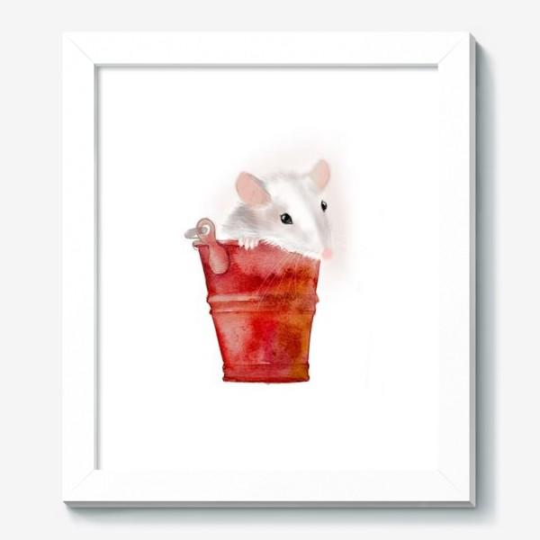 Картина «Мышка в ведерке»