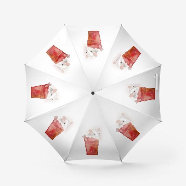 Зонт «Мышка в ведерке»