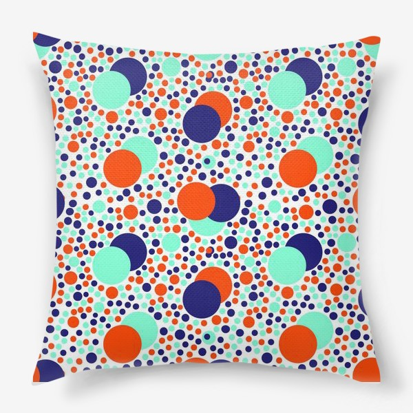 Подушка «Яркие детские шарики»