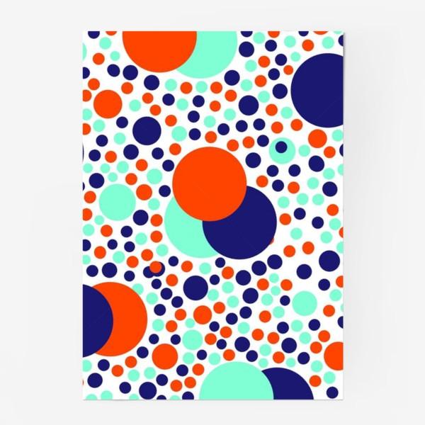 Постер «Яркие детские шарики»