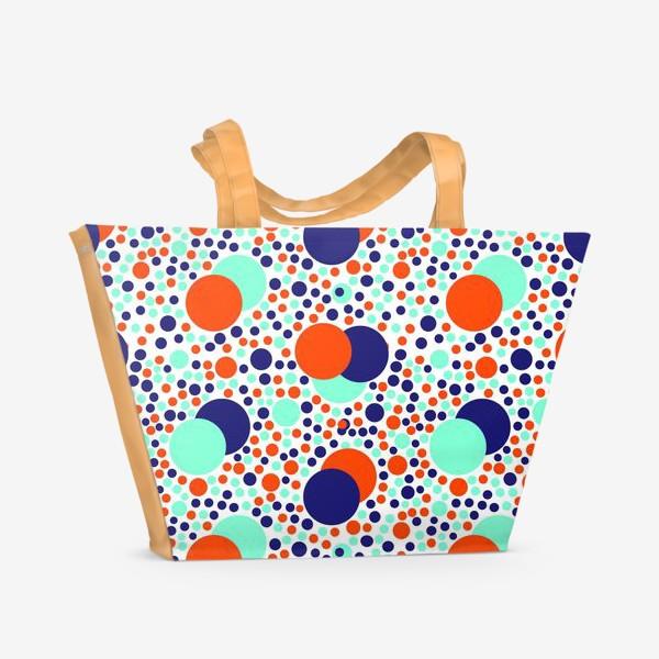 Пляжная сумка «Яркие детские шарики»