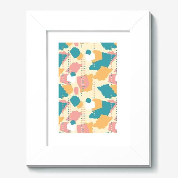 Картина «Абстрактный паттерн пятна и точки»