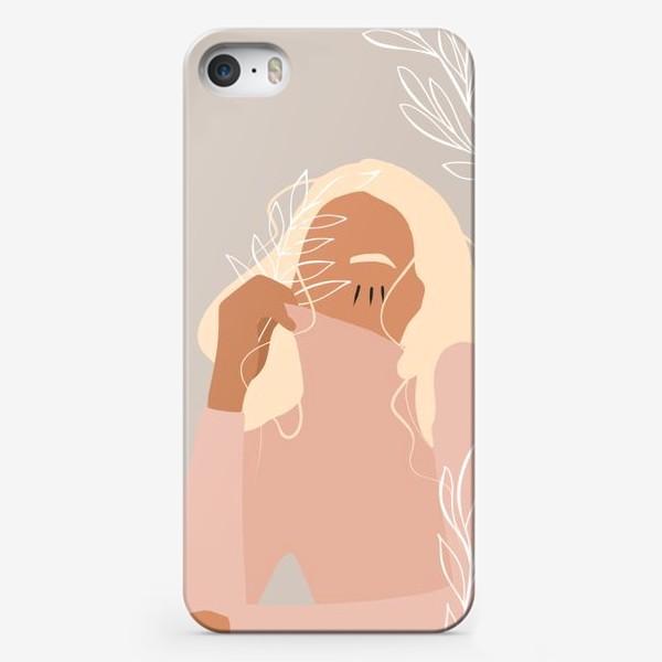 Чехол iPhone «Floral girl»