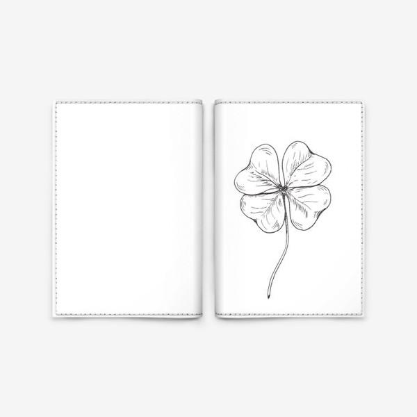 Обложка для паспорта «Клевер»