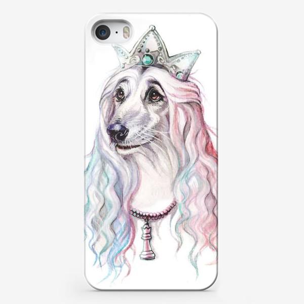 Чехол iPhone «Белая королева»