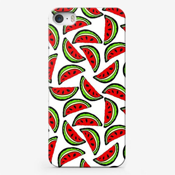 Чехол iPhone «Арбуз яркий сочный спелый»