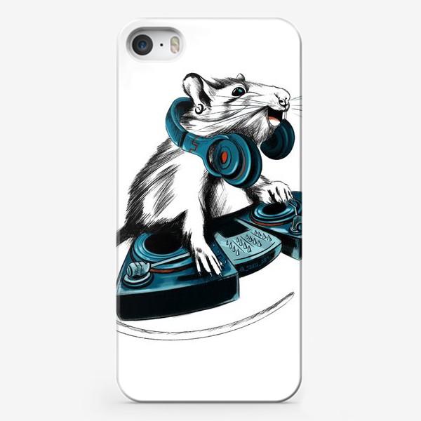 Чехол iPhone «Диджей крыса»
