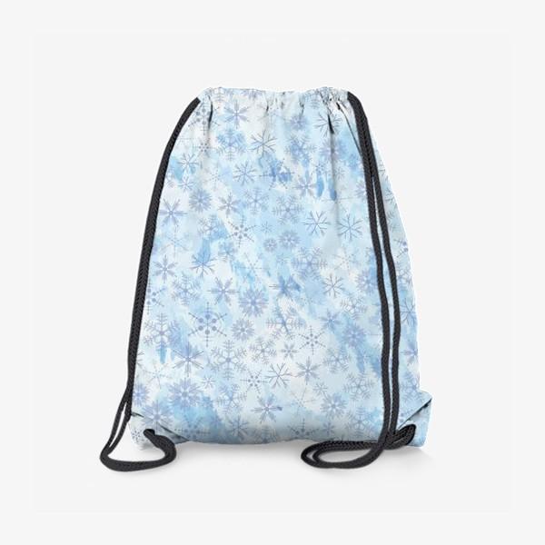 Рюкзак «Снежинки нежные»