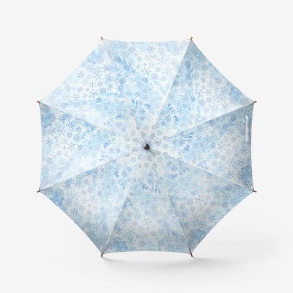 Зонт «Снежинки нежные»