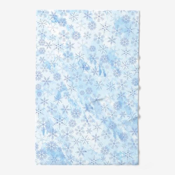 Полотенце «Снежинки нежные»