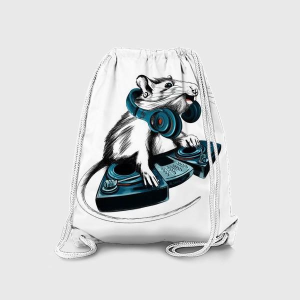Рюкзак «Диджей крыса»