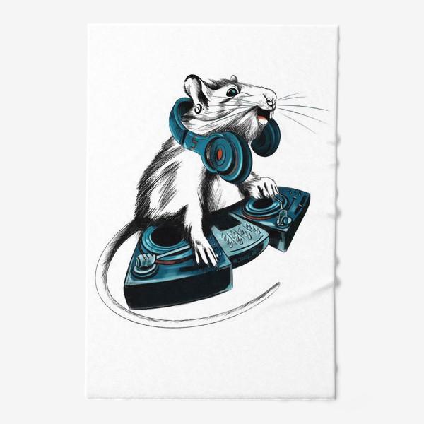 Полотенце «Диджей крыса»