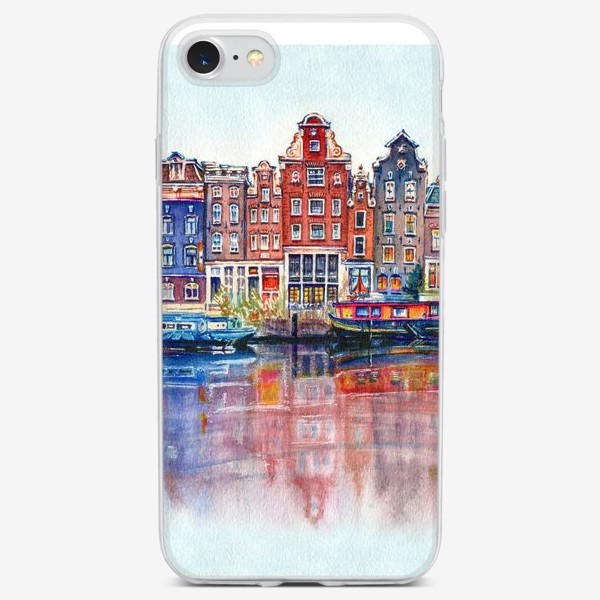 Чехол iPhone «Watercolor Amsterdam»