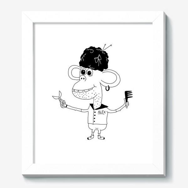 Картина «Парикмахер Алекс»