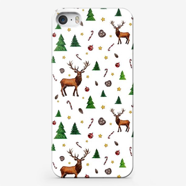 Чехол iPhone «Помощник Дедушки Мороза»