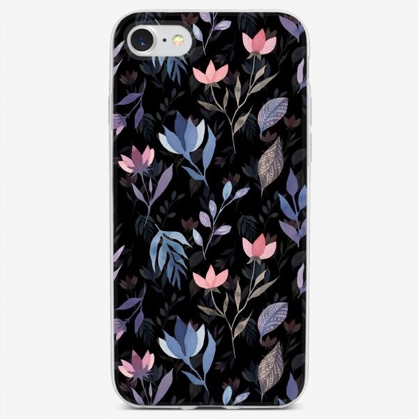 Чехол iPhone «Midnight Flowers»