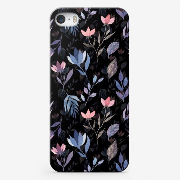 Чехол iPhone «Midnight Flowers»