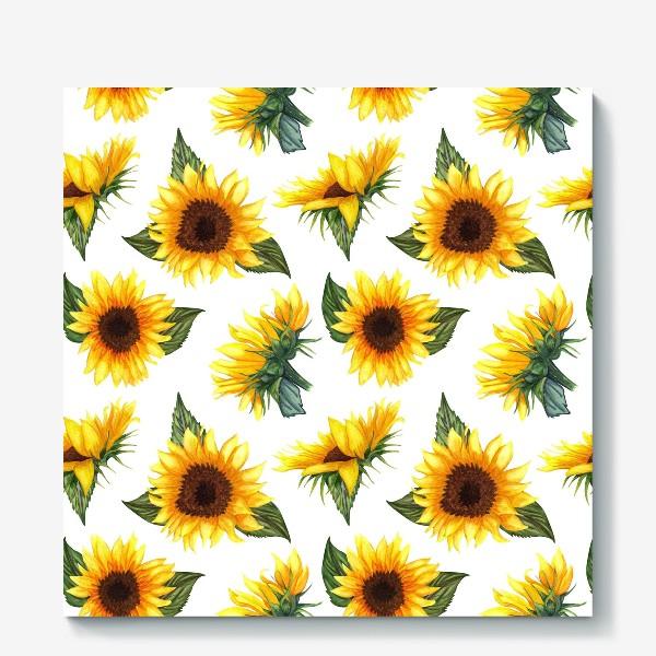 Холст «Солнечные цветы»