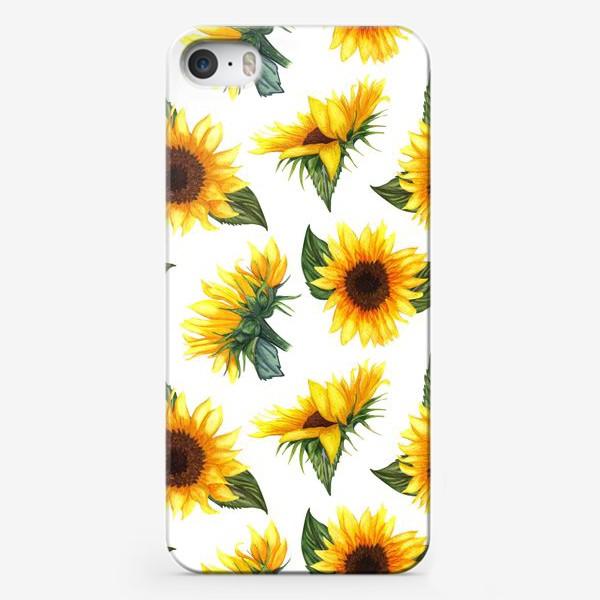 Чехол iPhone «Солнечные цветы»