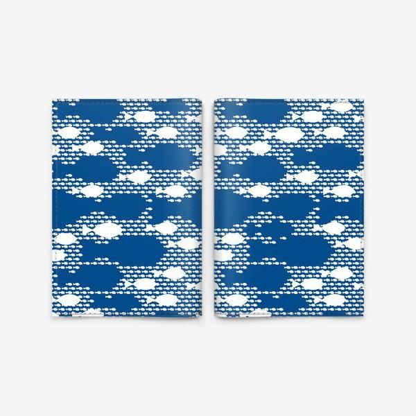 Обложка для паспорта «Рыба в океане»