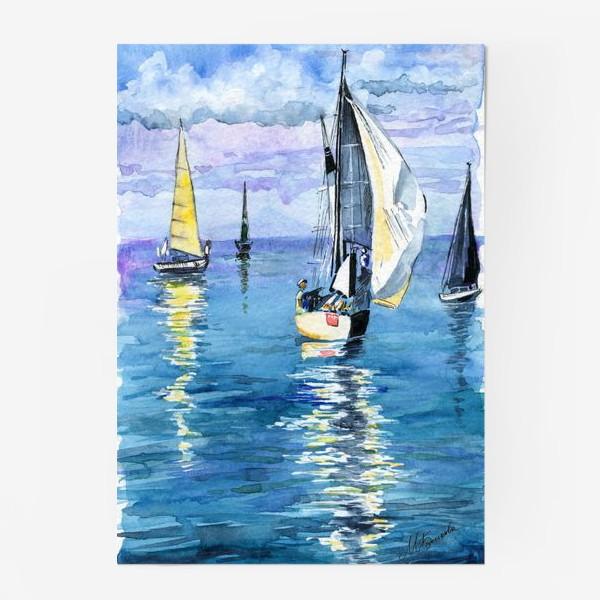 Постер «Море. Яхты»