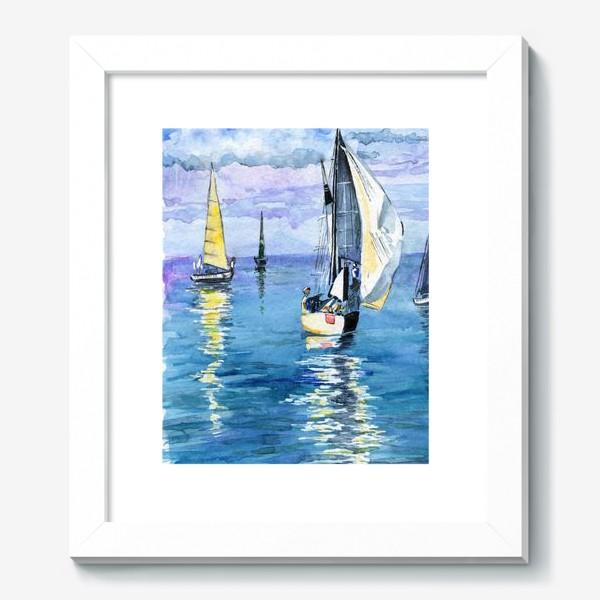 Картина «Море. Яхты»