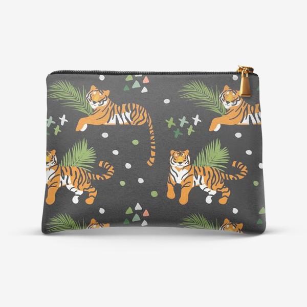 Косметичка «Тигры»