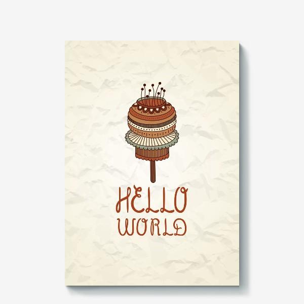 Холст «Hello world_3»